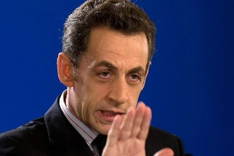 Le président français Nicolas Sarkozy... (Photo: AFP)