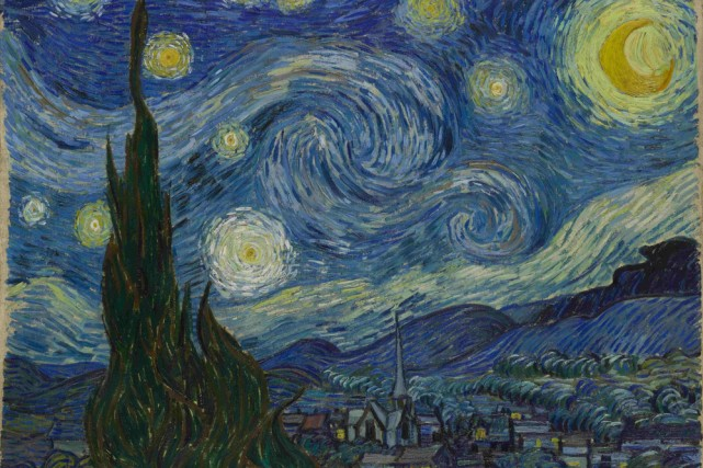 Une exposition consacrée au peintre Vincent Van Gogh à Vienne a attiré 589 180... (Photo: AP)