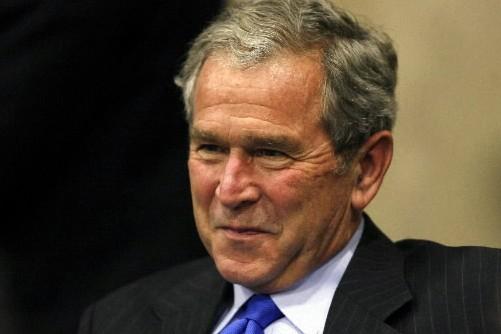 Le président des États-Unis, George W. Bush... (Photo: Reuters)
