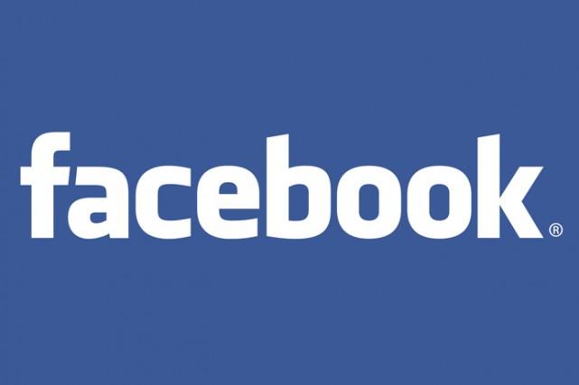 Le logo de Facebook...