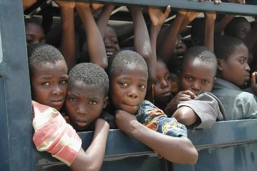 Des enfants esclaves... (Photo: AFP)