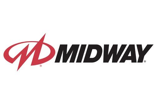 Le logo de Midway Games...