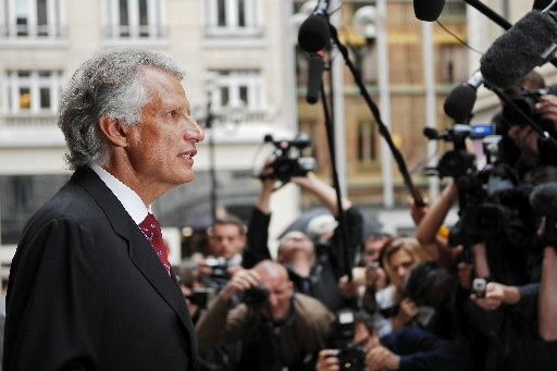 L'ex-premier ministre Dominique de Villepin.... (Photo: AFP)