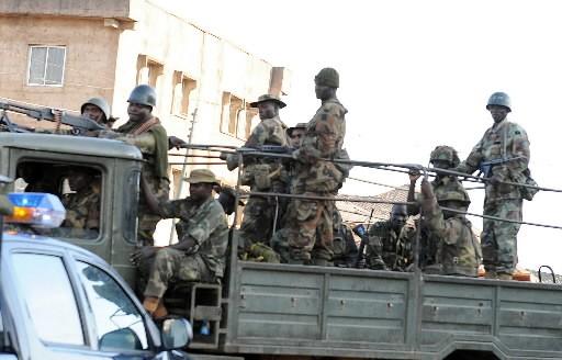 L'armée nigériane a renforcé sa présence à Jos et ses patrouilles quadrillaient... (Photo: AFP)