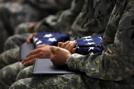 Des soldats américains... (Photo: AFP)