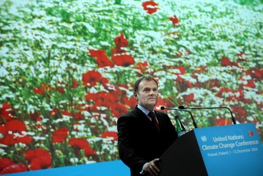 La conférence des Nations unies sur le climat, qui s'est ouverte lundi à Poznan... (Photo: AFP)