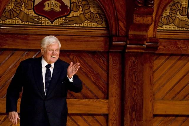 Le sénateur américain Edward Kennedy, 76 ans, a été désigné lundi docteur... (Photo: Reuters)
