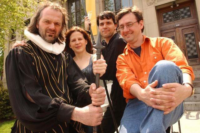 La comédie musicale L'Homme de la Mancha, montée avec maestria par René Richard... (Photo: archives La Presse)