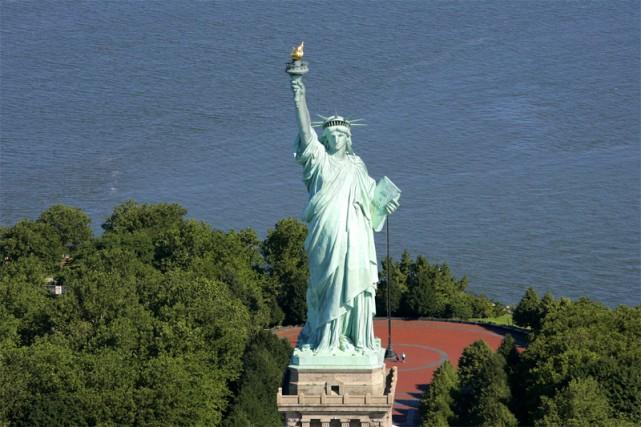 La statue de la Liberté à New-York... (AFP)
