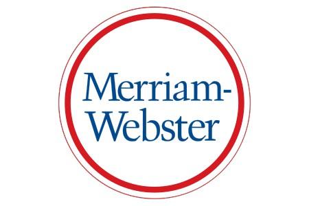 Le logo du dictionnaire Merriam-Webster...