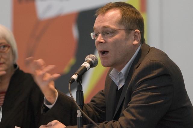 Le président du Conseil québécois du théâtre, Martin... (Photo: André Pichette, La Presse)