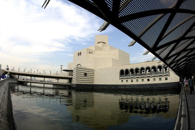 Une vue extérieure du nouveau Musée d'art islamiste... (Photo: AFP)