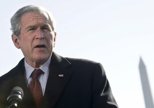 George W. Bush... (Photo: AFP)