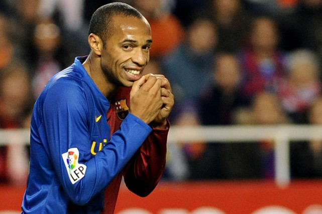 Thierry Henry... (Photo: AFP)