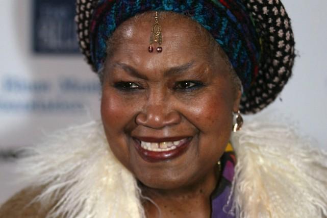 Odetta a inspiré Harry Belafonte, Bob Dylan, Joan... (Photo: AP)