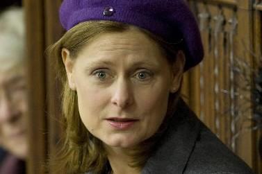 Sarah Brown... (Photo: AFP)