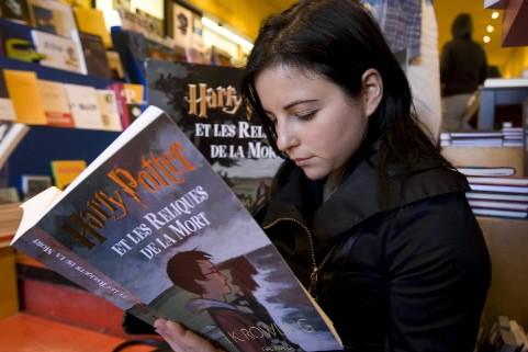 Ça a été la dernière de mes quatre nuits blanches avec Harry Potter. La... (Photo: Rémi Lemée, La Presse)