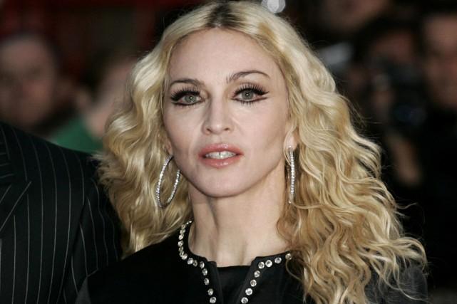 Madonna, à Londres, en septembre 2008.... (Photo: AP)