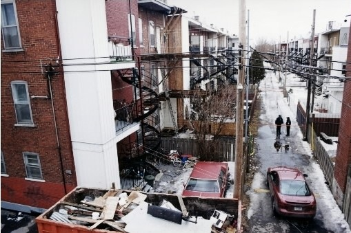 Scène du crime en 2004... (Photo: La Presse)