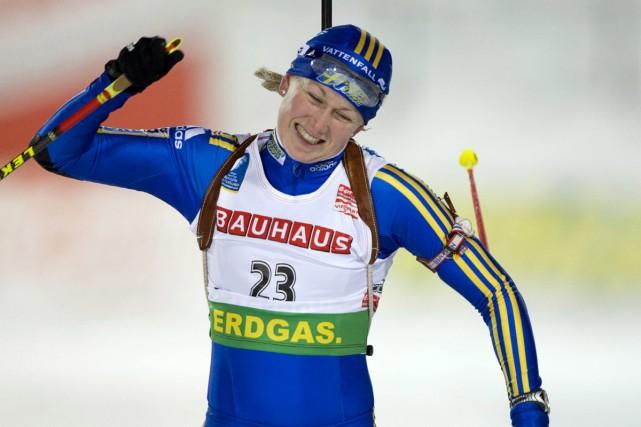 Helena Jonsson... (Photo:  AFP)