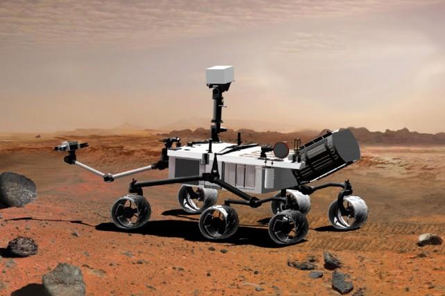 La sonde Mars Science Laboratory... (Photo: AFP)
