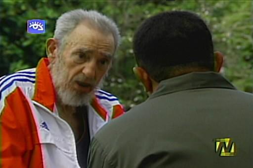 Fidel Castro... (Photo: AFP)