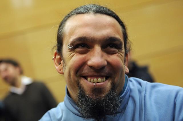 Santos Mirasierra... (Photo: AFP)