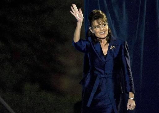 Sarah Palin... (Photo: AFP)