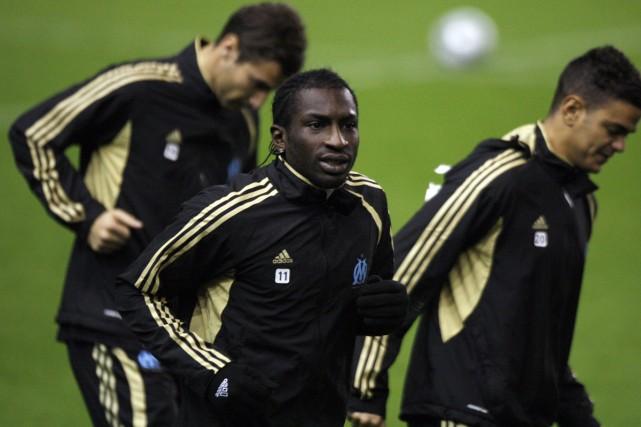 Mamadou Niang... (Photo: AFP)