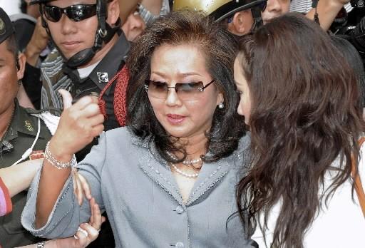 Pojaman Shinawatra... (Photo: AFP)