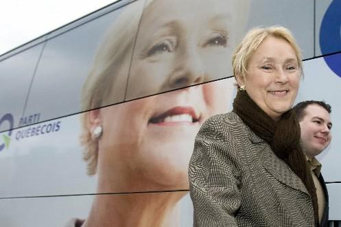 Pauline Marois... (Photo: Reuters)
