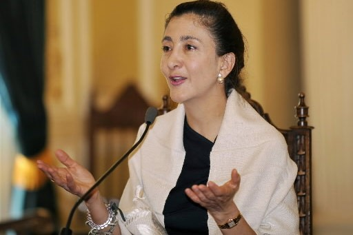 L'ex-otage franco-colombienne Ingrid Betancourt a indiqué lundi à Rome que le... (Photo: AFP)