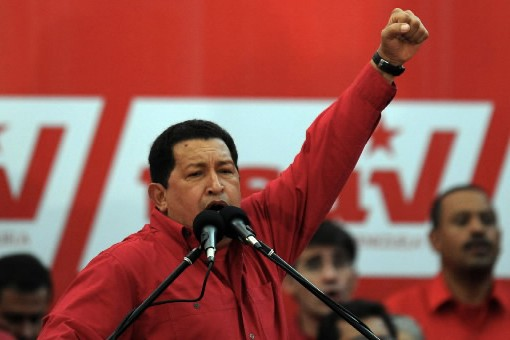 Hugo Chavez... (Photo AFP)