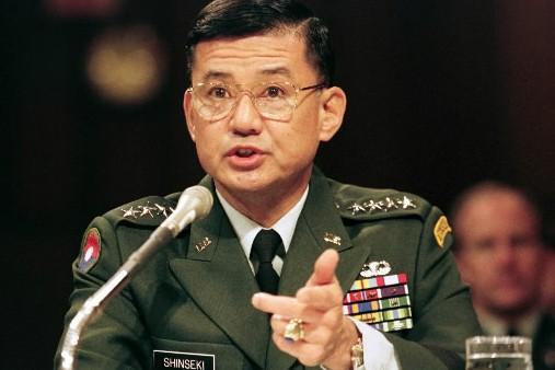 Le général de réserve d'origine japonaise, Eric Ken... (Photo Reuters)
