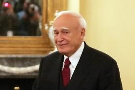 Le président de la Grèce, Carolos  Papoulias.... (Photo: AFP)