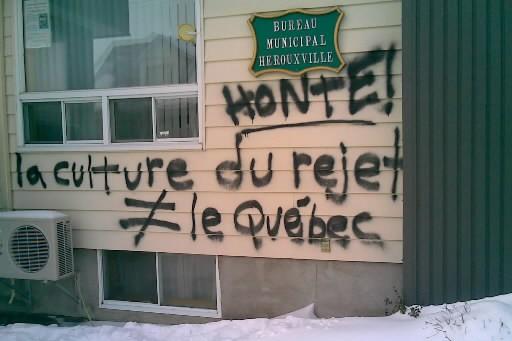 Exception faite de la faillite de l'unique restaurant du village, rien n'a... (Photo: Cindy Lévesque, Archives Le Nouvelliste)