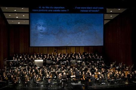 L'opéra Saint François D'Assise...