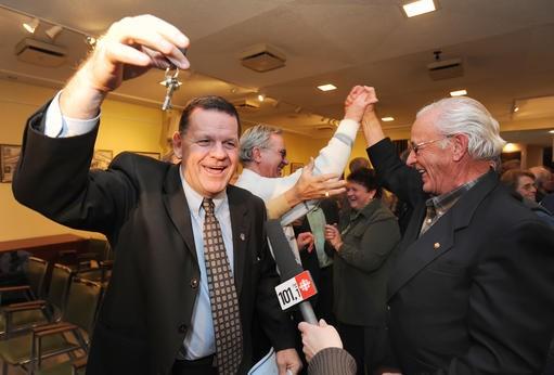 Le maire Marc Poulin pourra utiliser les clefs... (Imacom, Jocelyn Riendeau)