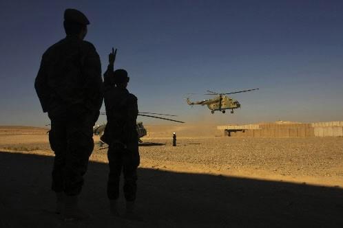 Des soldats en Afghanistan.... (Photo: AFP)