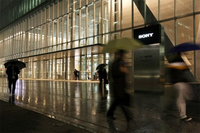 Le siège social de Sony à Tokyo... (Reuters)