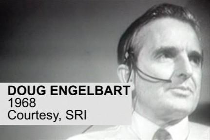 Douglas Engelbart, visionnaire des technologies, a réalisé la première...
