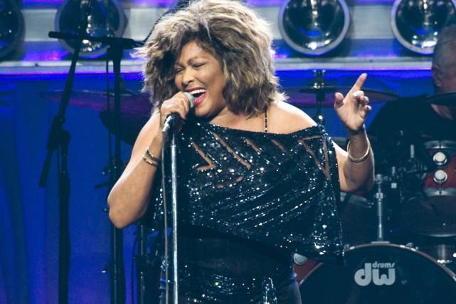 Tina Turner ne m'avait pas convaincu d'emblée lors de son apparition remarquée... (Photo: Rogerio Barbosa, collaboration spéciale)