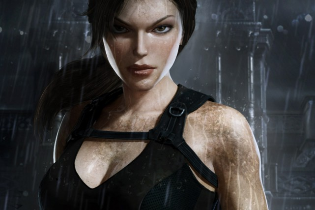 Lara Croft, héroïne de Tomb Raider...