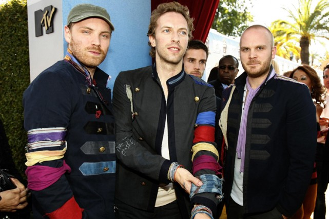 Le groupe Coldplay... (Photo: AP)