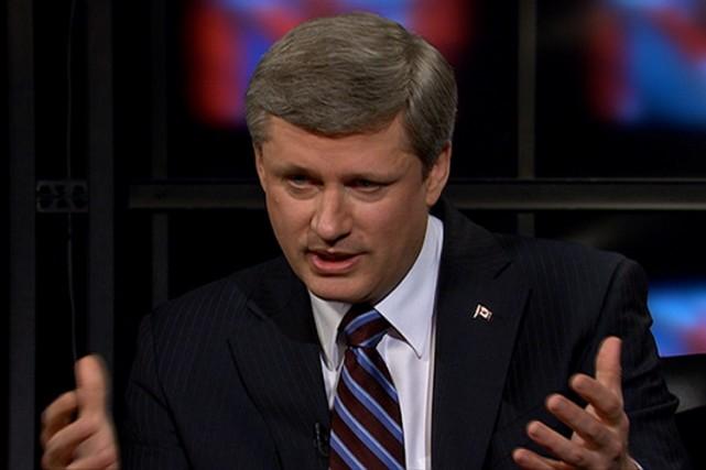 Dans une entrevue au réseau CBC, Stephen Harper... (Photo: PC)