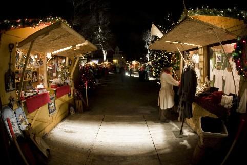 Le Marché de Noël et des traditions de... (Photo David Boily, La Presse)
