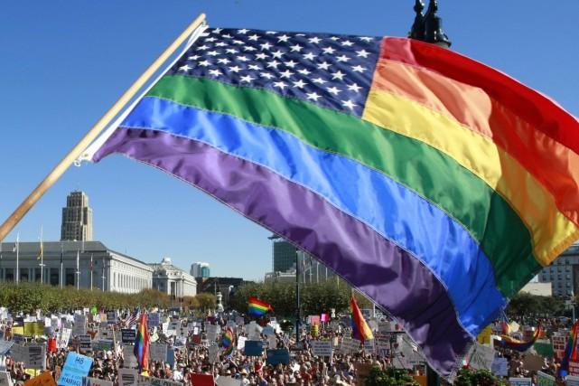 Si vous soutenez le mariage gai, mercredi, appelez votre employeur et... (Photo: AP)