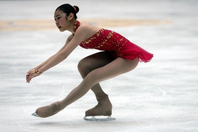Kim Yu-na... (Photo: AFP)