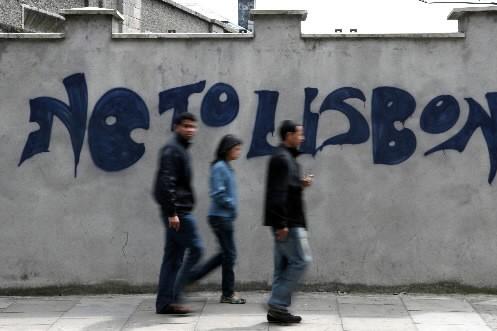 Les dirigeants européens ont trouvé jeudi un accord de principe prévoyant que... (Photo: Archives Bloomberg News)