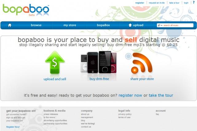 Le site Bopaboo.com...